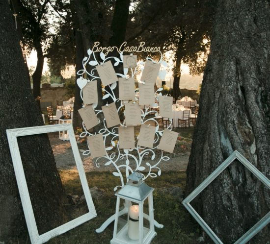 Ideas for Your Tableau de Mariage in Tuscany
