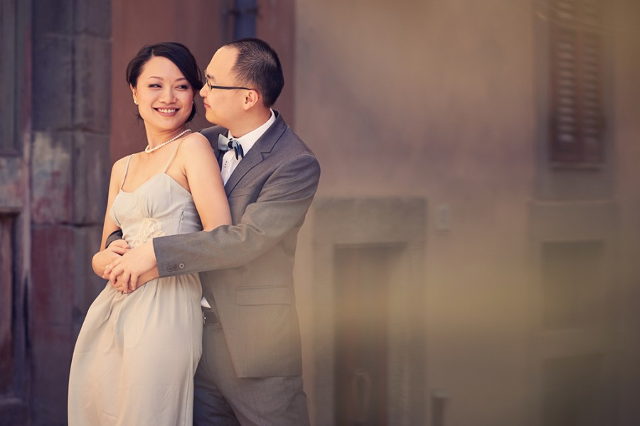 Destination Pre-wedding Shoot in Tuscany