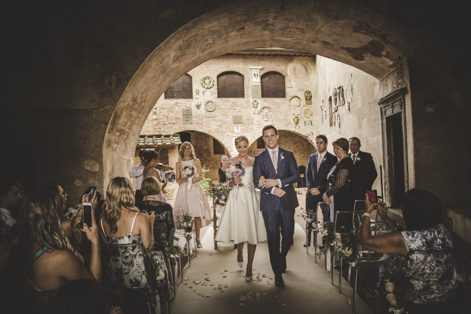 Ceremonies for weddings in Tuscany