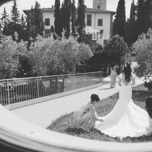 exotic wedding ceremony in italy