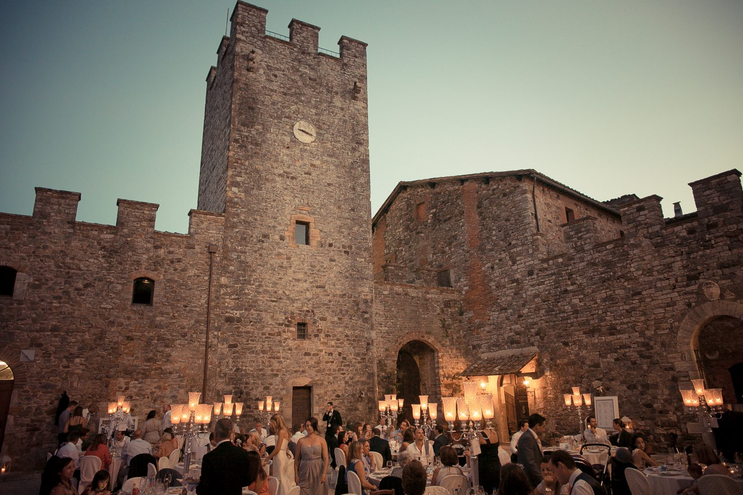 wedding historic castle