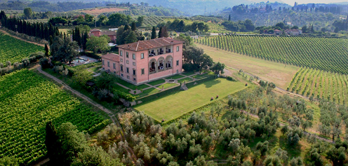 wedding in historic luxury villas tuscany