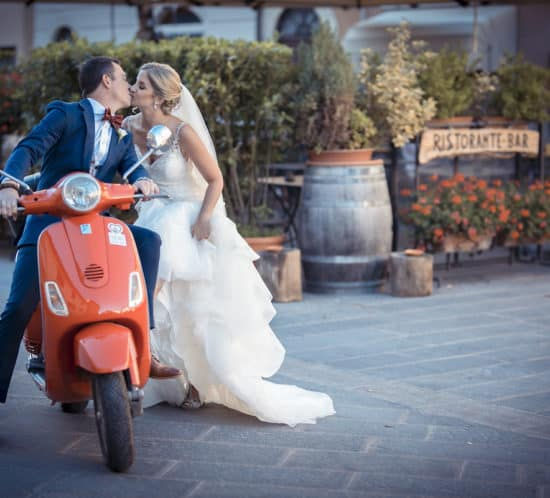 real wedding in tuscany borgo